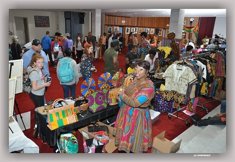 Ghana's culture was uniquely displayed at the event