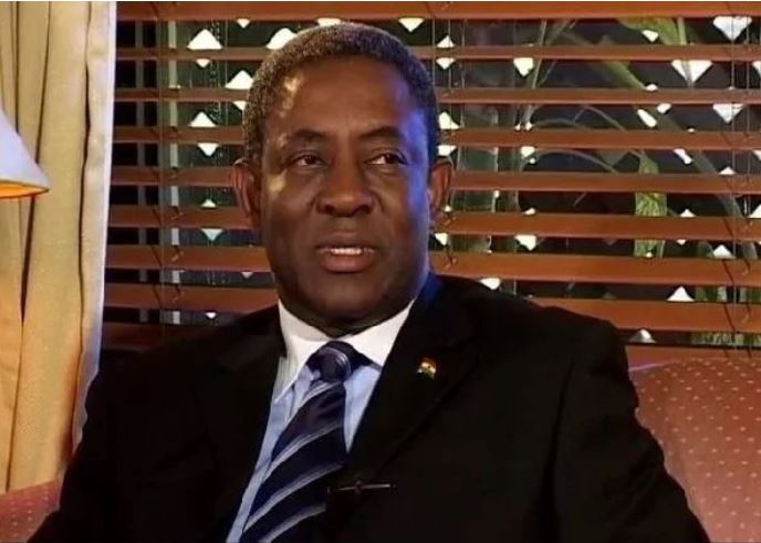 Isaac Osei, Managing Director of the Tema Oil Refinery