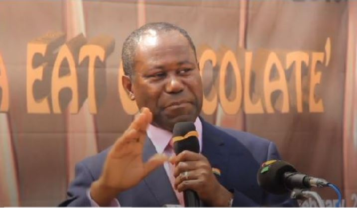 Joseph Boahen Aidoo, Chief Executive Officer of the Ghana Cocoa Board (COCOBOD)