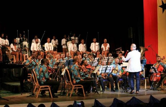 Maestro Brand combined Israeli music, Ghanaian music and classical music