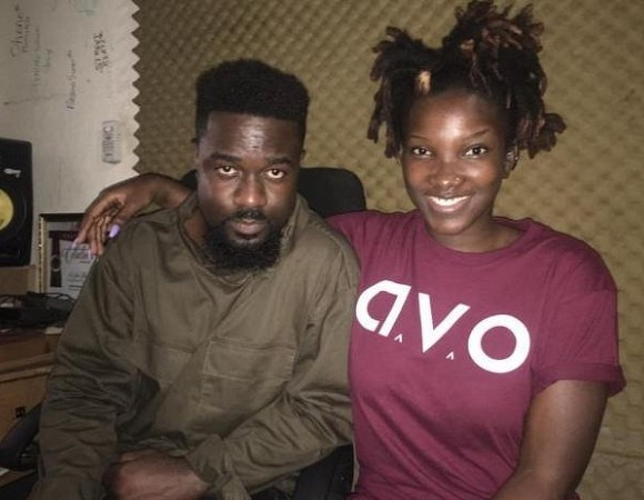 Sarkodie and the late Ebony