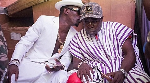 Shatta Wale and father