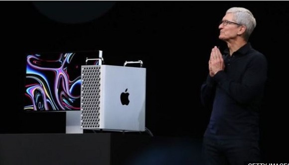Apple chief executive Tim Cook introduced the new Mac Pro at the annual developers conference