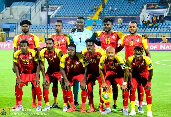 Black Stars hoping to win