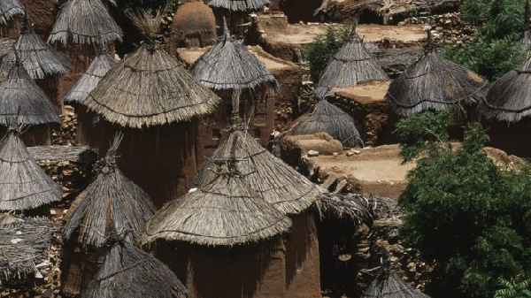 Dogon villages often follow a traditional way of life