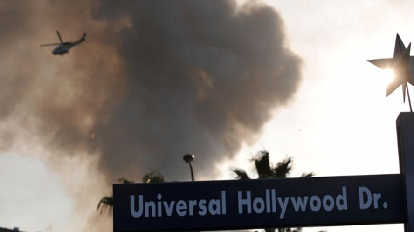 Several movie sets were destroyed in the fire on 1 June 2008