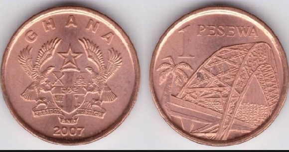 Some Ghanaians reject the 1 pesewa coin as a medium of exchange