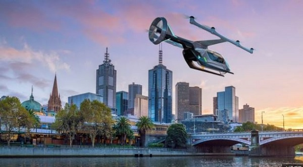 Test flights for Uber's flying taxis are due to start from 2020