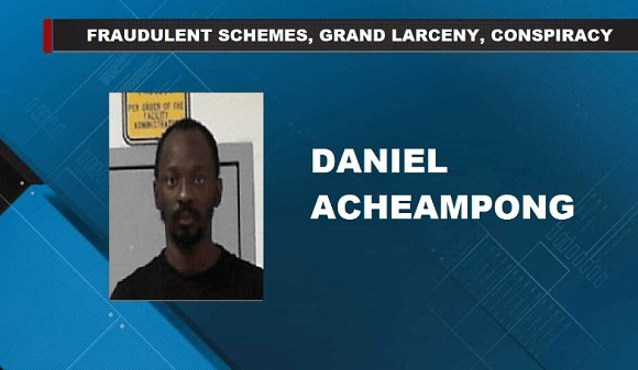 The suspect Daniel Acheampong