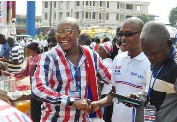 Horace Ekow Ewusi (L) is the Central Regional First Vice-Chairman of the party, Ghana Political News Report Articles