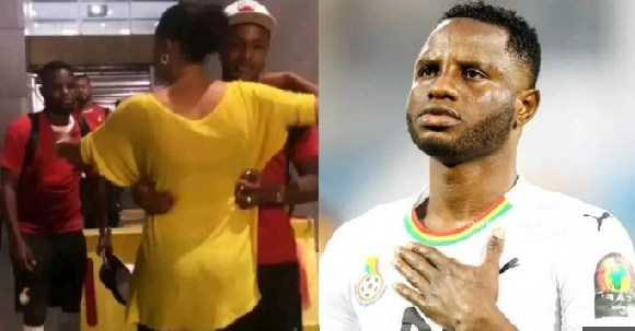 Mother of Ayew brothers Maha welcome Wakaso and sons