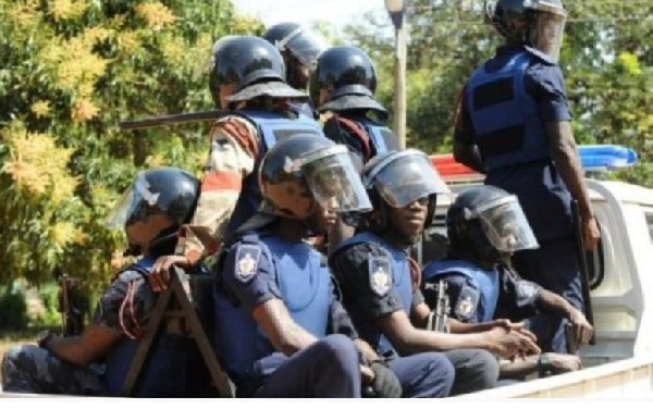 Police file photo, Ghana Political News Report Articles