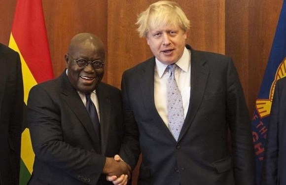 President Akufo-Addo and UK Prime Minister, Boris Johnson