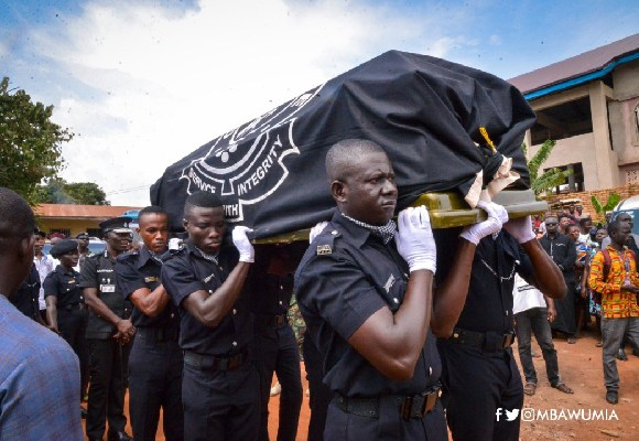 Police burial