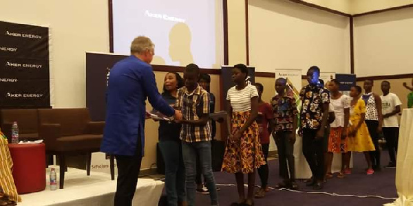 Aker Energy, GNPC award scholarships to 200 students