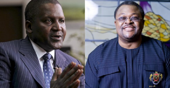 Dangote and Mike Adenuga