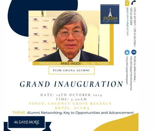 Grand Inauguration on October 19