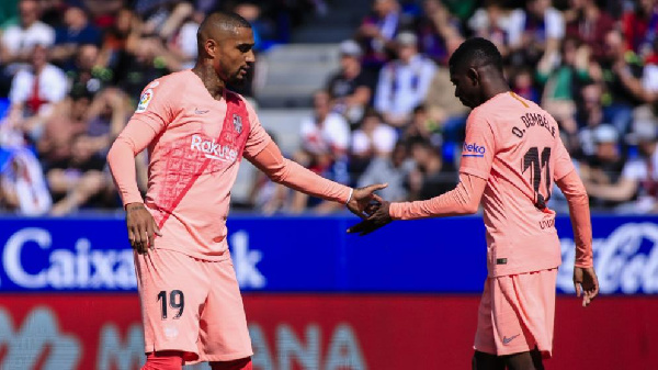 Kevin Prince and Dembele