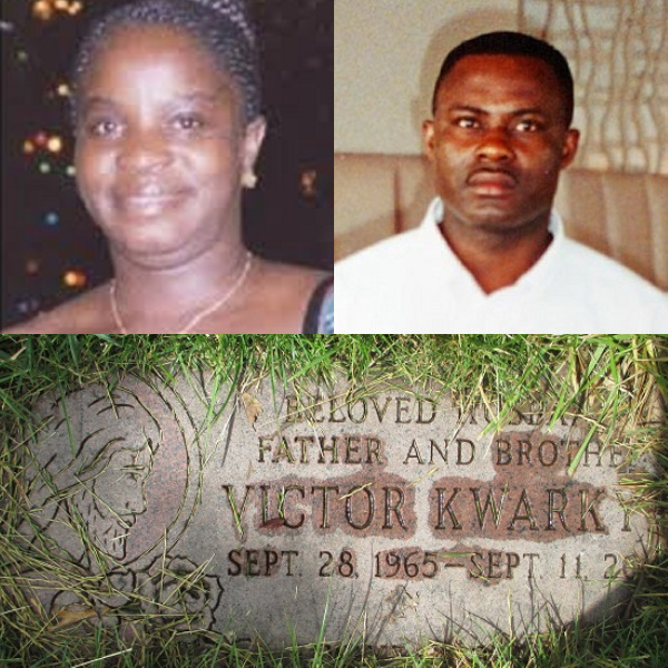 Two of the four Ghanaians who perished in sept 11 disaster
