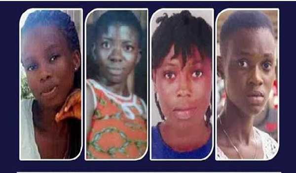 four kidnapped girls, Ghana Political News Report Articles