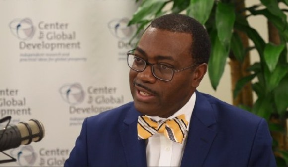 President of the African Development Bank , Dr Akinwumi A. Adesina