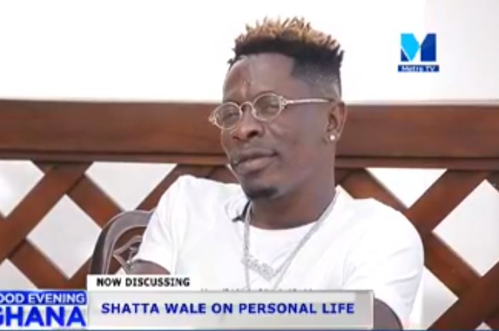 Shatta Wale on Good evening Ghana