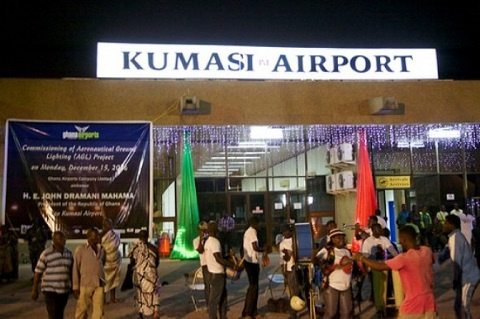Kumasi Airport File photo