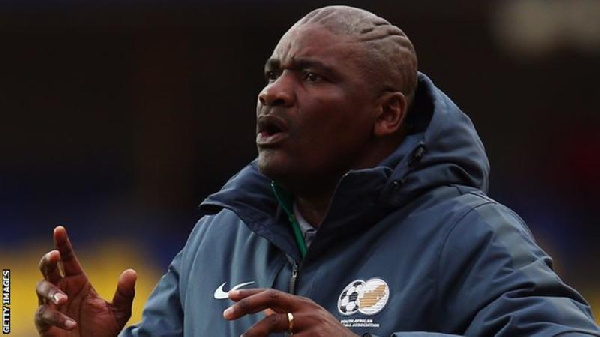 South Africa head coach Molefi Ntseki