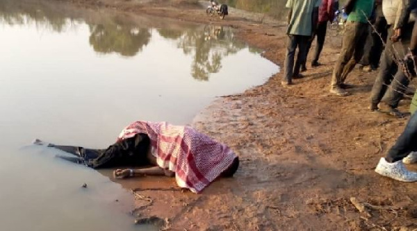 22-year-old Garba Mamadu went into the dam to swim and drowned in the process