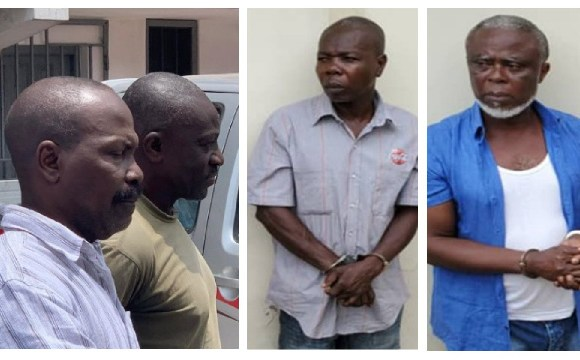Alleged coup plotters