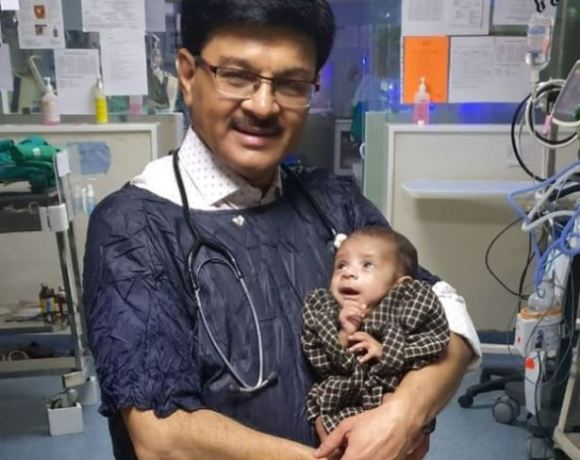 Baby who survived after been buried alive