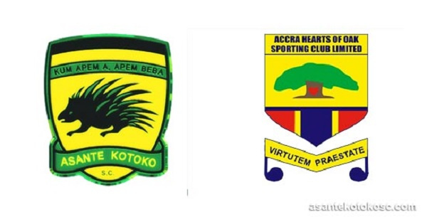 Asante Kotoko and Hearts of Oak