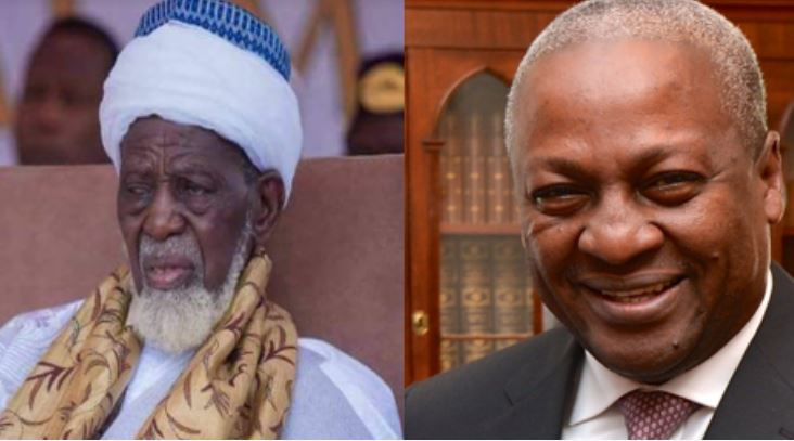 Chief Imam and Mahama