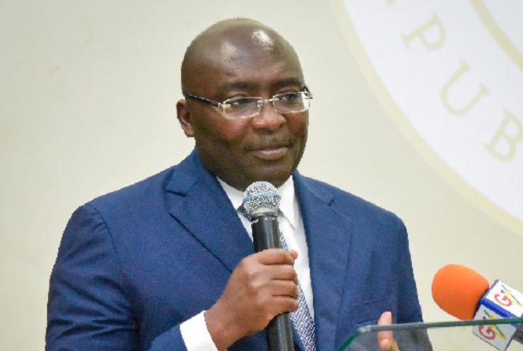 Bawumia delivers speeh