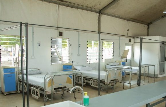 Coronavirus isolation center