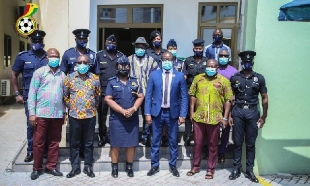 GFA and police officials