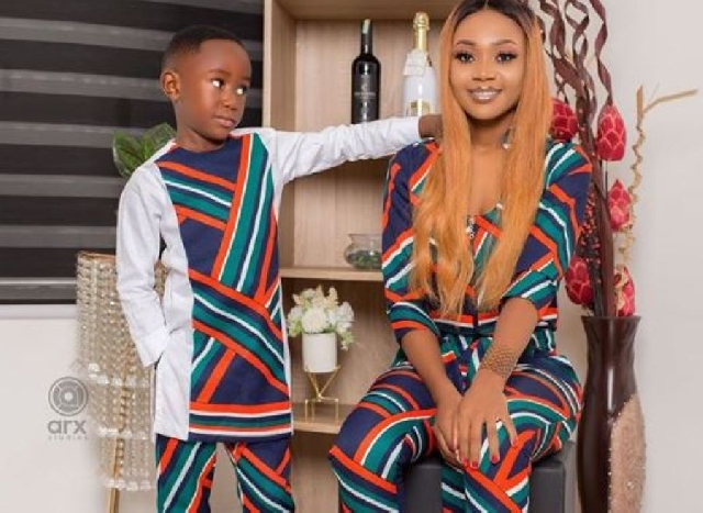 Rosemond Brown and son, Ghana Music News Articles