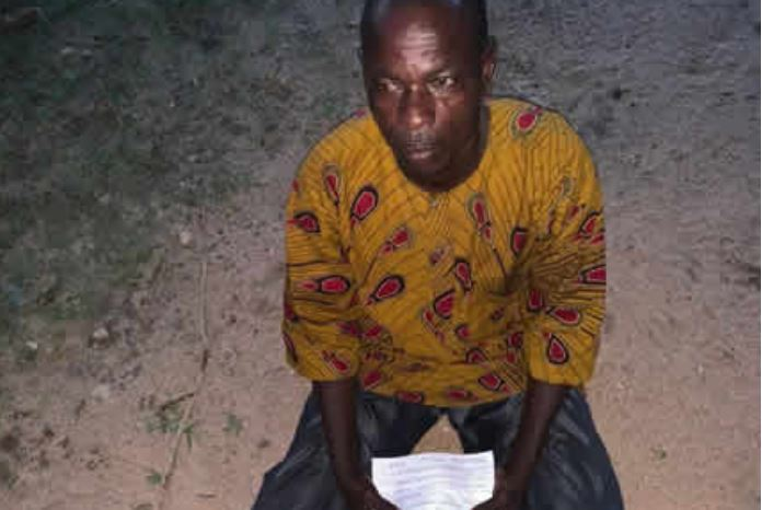 Togolese Bouguiligue Kouassi Kampe was picked up by police