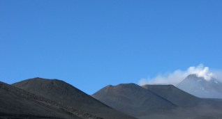 Craters on Etna 2006