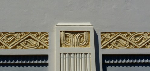 Art Deco Maori elements