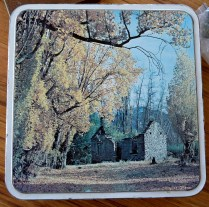 cake tin autumn