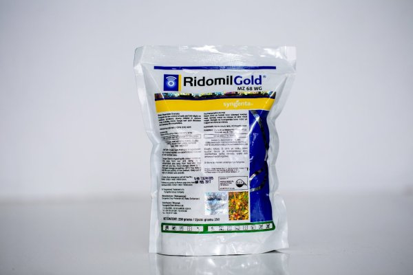Ridomil Gold is a fungicide for the control of early and late blight on potatoes