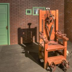 Sing Electric Chair Adjustable Height Vanity Old Sparky