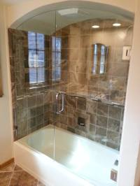 Custom Glass Shower Doors | Glass Tub Enclosures | Bathtub ...