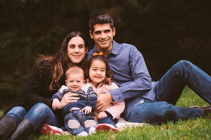 Sergio, Paula y su familia