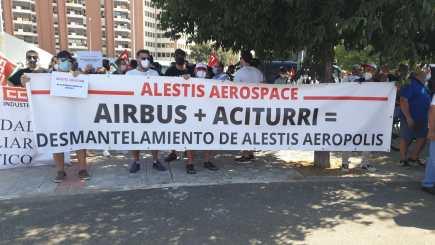 Huelga del Sector Aeronautico