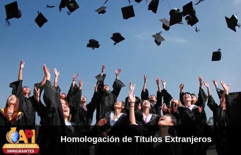 Homologacion de Títulos Extranjeros en España