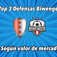 TOP 3 Defensas más recomendables en Biwenger según valor de mercado