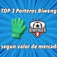 TOP 3 Porteros más recomendables para Biwenger según valor de mercado