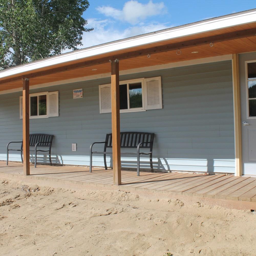 Beach Hut Exterior 1